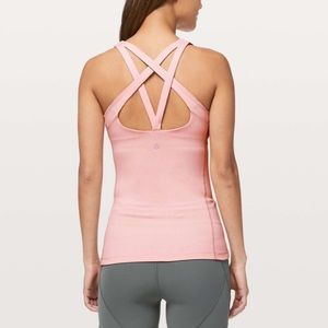 NWT Lululemon Cross It Off Tank